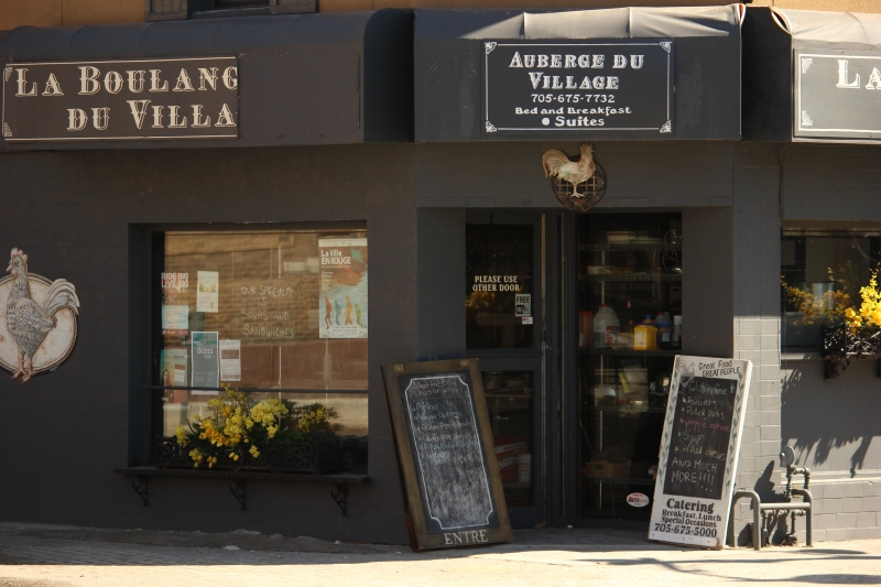 La Boulangerie du Village at Larch St. & Durham St. in Downtown Sudbury.