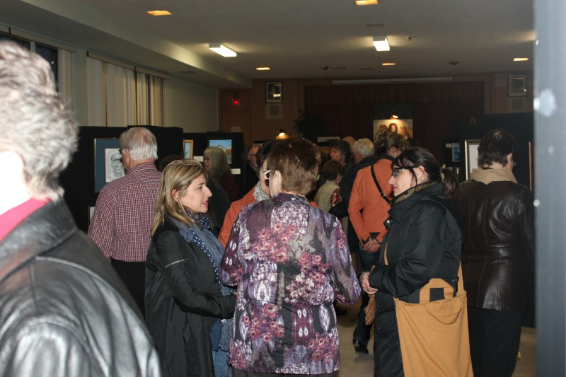 Sudbury Art Club Annual Show/Sale last year at CNIB at York St. & Regent St.
